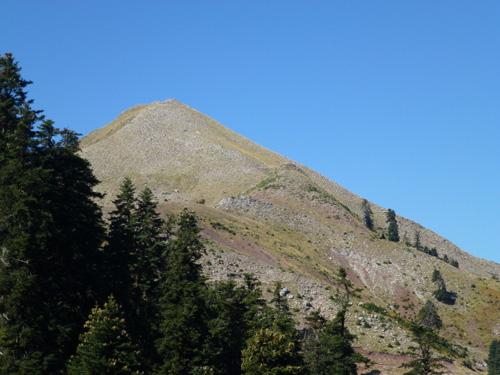 Η κορυφή Φουρκούλα