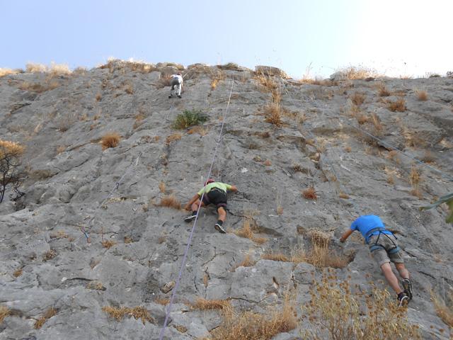 Από το Test Climb του περασμένου Σεπτέμβρη