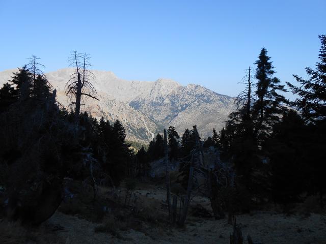 Θέα από τη στάνη προς τη Μουγγίλα